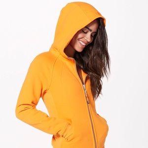 Lululemon Scuba Hoodie Orange Size 2